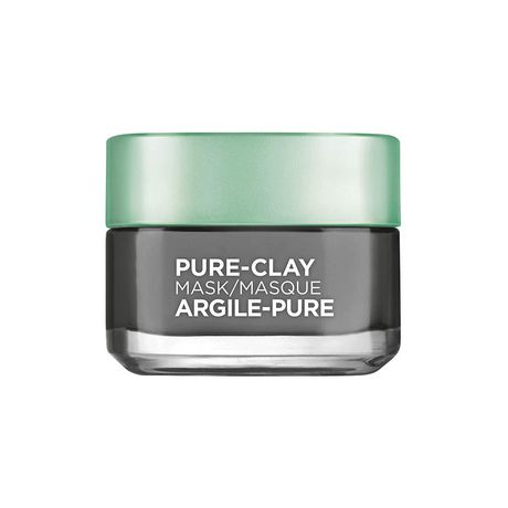 L'Oreal Paris Pure-Clay Cleansing Mask with 3 Mineral Clays + Charcoal, Energizes and Brightens Dull Skin - image 1 of 9