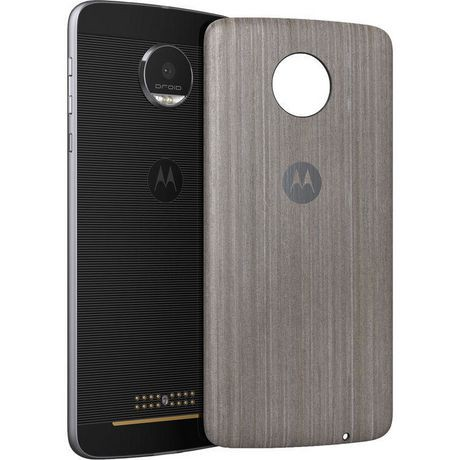 moto z droid. moto style shell for z, z droid, play, play \u0026 force (silver oak wood) droid
