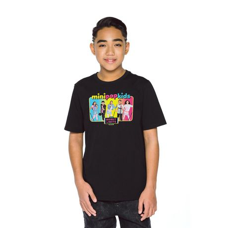 Boys' Mini Pop Kids Bright Lights Tour T-Shirt - image 4 of 7
