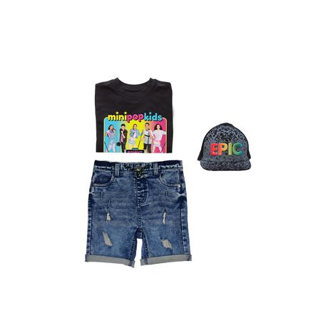 Boys' Mini Pop Kids Bright Lights Tour T-Shirt - image 7 of 7