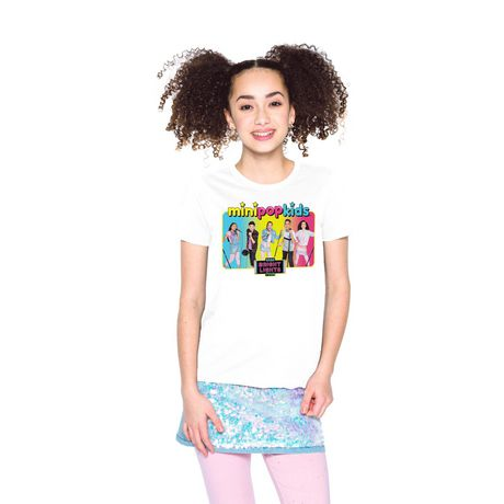 Girls Mini Pop Kids Bright Lights Tour T-Shirt - image 4 of 7