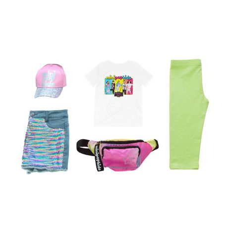Girls Mini Pop Kids Bright Lights Tour T-Shirt - image 7 of 7