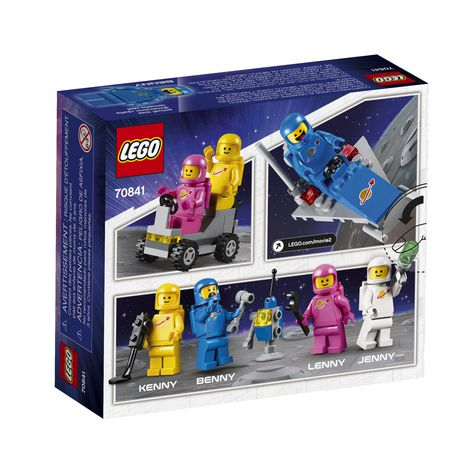THE LEGO MOVIE 2 Benny's Space Squad 70841 Building Kit (68 Piece) - image 5 of 5