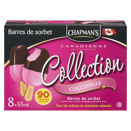 Chapman's Canadian Collection Lady Bug Sorbet bar - image 2 of 4