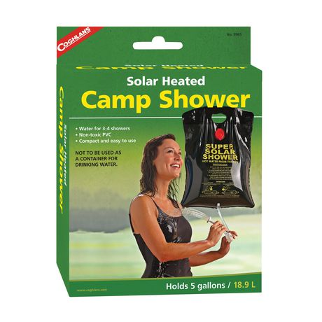 Coghlan's Solar Heated Camp Shower - image 1 of 1