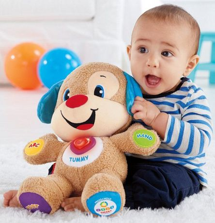 Laugh & Learn Fisher-Price Laugh And Learn Smart Stages Puppy - English Edition - image 3 of 9