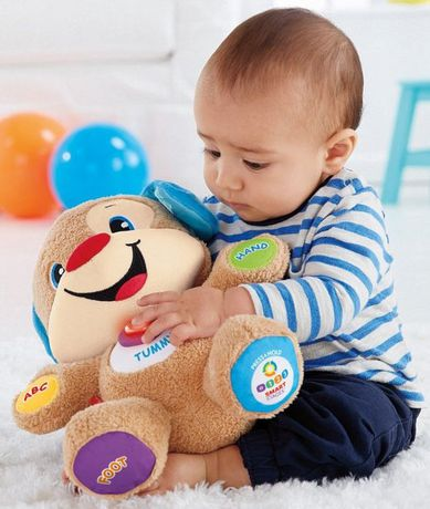 Laugh & Learn Fisher-Price Laugh And Learn Smart Stages Puppy - English Edition - image 4 of 9