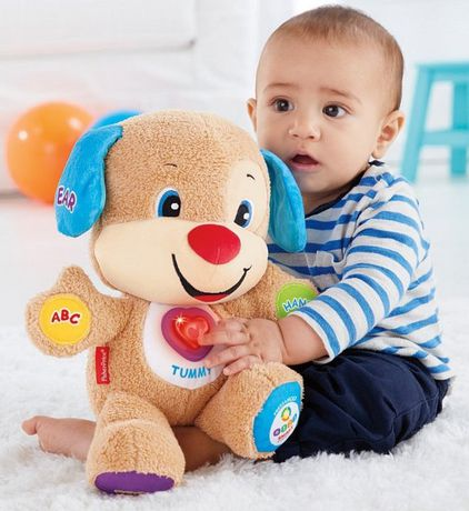 Laugh & Learn Fisher-Price Laugh And Learn Smart Stages Puppy - English Edition - image 5 of 9