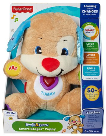 Laugh & Learn Fisher-Price Laugh And Learn Smart Stages Puppy - English Edition - image 9 of 9