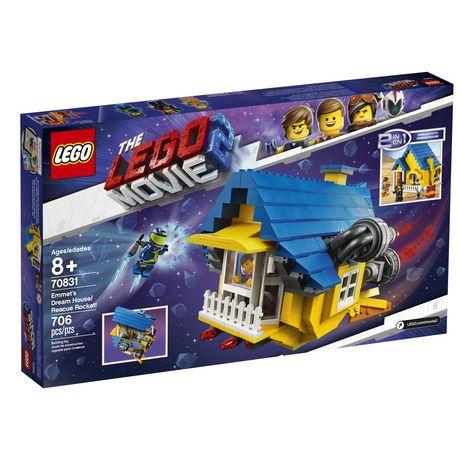 De 70831 Movie D'emmet Rêvefusée Sauvetage Lego La Maison Aj534RLq