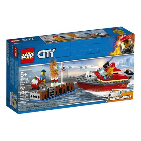 LEGO City Dock Side Fire 60213 Building Kit (97 Piece) - image 2 of 6