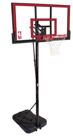 "Spalding 48"" Polycarbonate Basketball System 