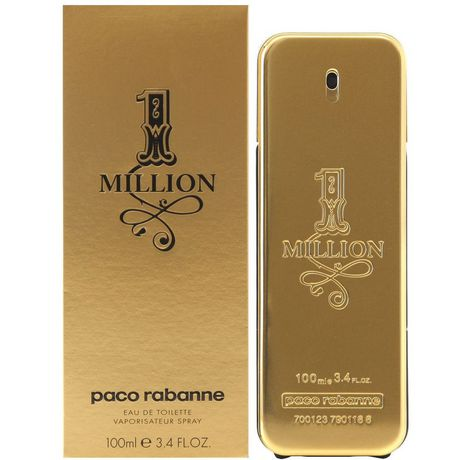 924d3ec730 Paco Rabanne 1 Million 100ml Eau De Toilette Spray - image 1 of 1 ...