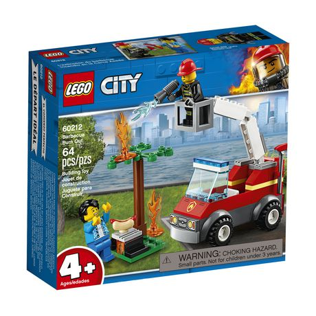 LEGO City Barbecue Burn Out 60212 Building Kit (64 Piece) - image 2 of 5