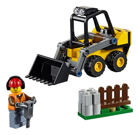 LEGO City Great Vehicles Construction Loader 60219 Building Kit (88 Piece) - image 3 of 5
