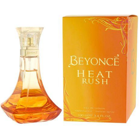 Beyonce Heat Rush Ladies Eau De Toilette Vaporisateur 100 Ml