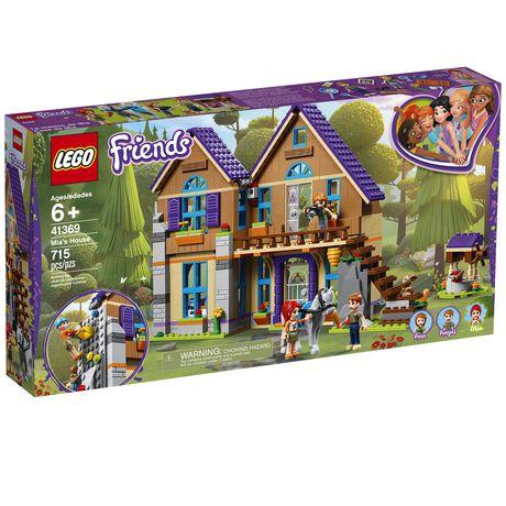 LEGO Friends Mia's House 41369 Building Kit | Walmart Canada
