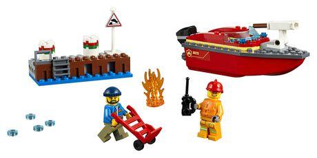 LEGO City Dock Side Fire 60213 Building Kit (97 Piece) - image 3 of 6
