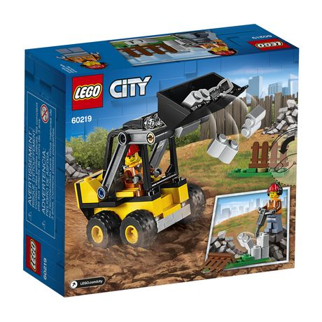 LEGO City Great Vehicles Construction Loader 60219 Building Kit (88 Piece) - image 5 of 5