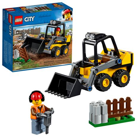LEGO City Great Vehicles Construction Loader 60219 Building Kit (88 Piece) - image 1 of 5