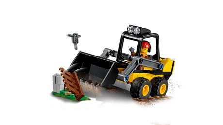 LEGO City Great Vehicles Construction Loader 60219 Building Kit (88 Piece) - image 4 of 5