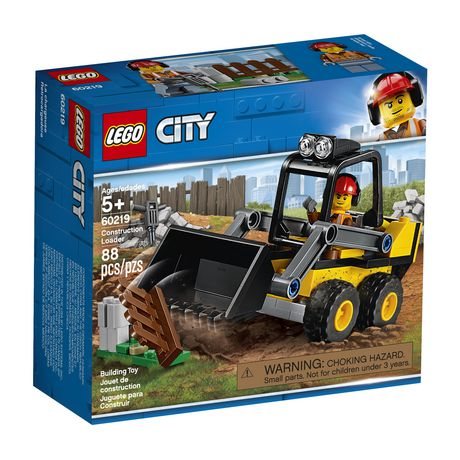 LEGO City Great Vehicles Construction Loader 60219 Building Kit (88 Piece) - image 2 of 5