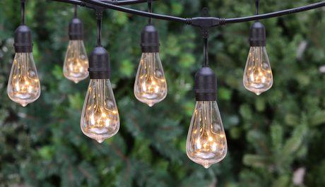hometrends Oversized Edison Bulb String Lights - image 1 of 1