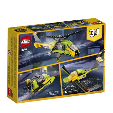 LEGO Creator 3in1 Helicopter Adventure 31092 Building Kit (157 Piece) - image 5 of 5