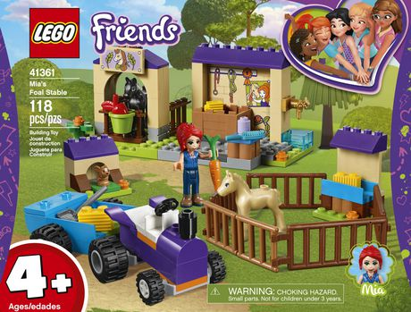LEGO Friends 4+ Mia's Foal Stable 41361 Building Kit (118 Piece) - image 4 of 5