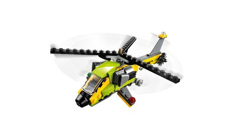 LEGO Creator 3in1 Helicopter Adventure 31092 Building Kit (157 Piece) - image 3 of 5