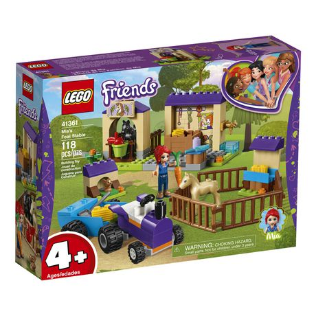 LEGO Friends 4+ Mia's Foal Stable 41361 Building Kit (118 Piece) - image 1 of 5