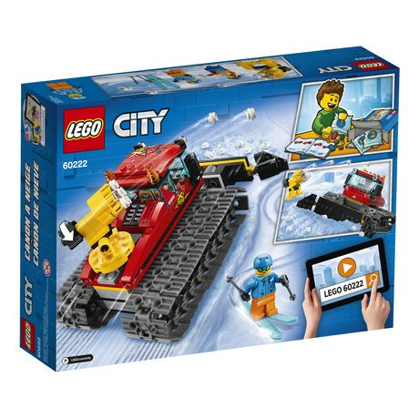 LEGO City Great Vehicles Snow Groomer 60222 Building Kit (197 Piece) - image 4 of 5