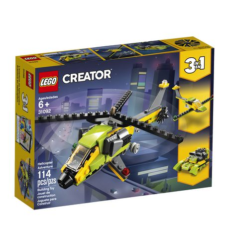 LEGO Creator 3in1 Helicopter Adventure 31092 Building Kit (157 Piece) - image 1 of 5