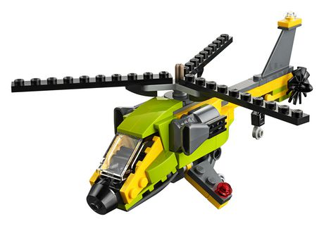 LEGO Creator 3in1 Helicopter Adventure 31092 Building Kit (157 Piece) - image 2 of 5
