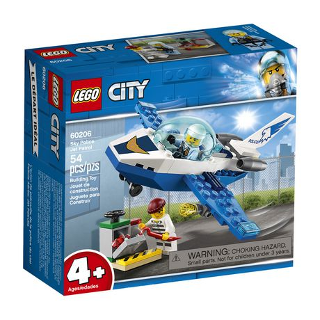 LEGO City Sky Police Jet Patrol 60206 Building Kit (54 Piece) - image 2 of 5