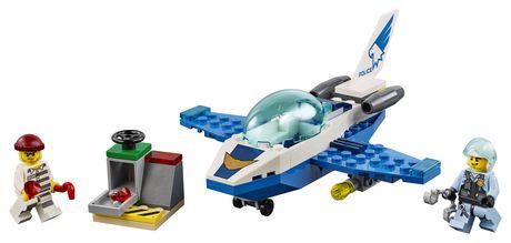 LEGO City Sky Police Jet Patrol 60206 Building Kit (54 Piece) - image 3 of 5