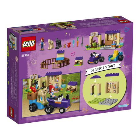 LEGO Friends 4+ Mia's Foal Stable 41361 Building Kit (118 Piece) - image 5 of 5