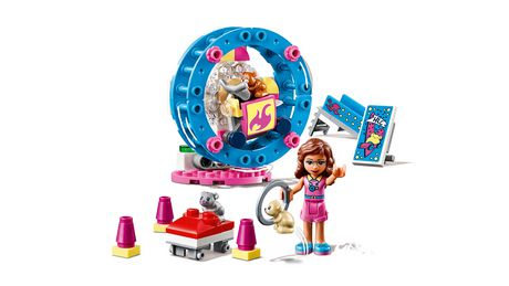 LEGO Friends Olivia's Hamster Playground 41383 Building Kit (81 Piece) - image 3 of 5
