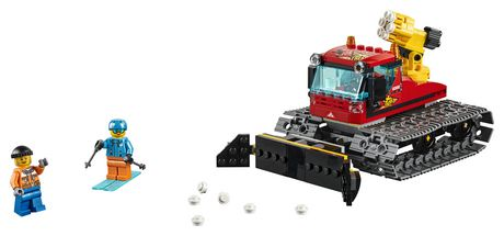 LEGO City Great Vehicles Snow Groomer 60222 Building Kit (197 Piece) - image 3 of 5