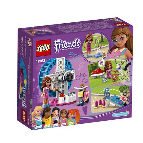 LEGO Friends Olivia's Hamster Playground 41383 Building Kit (81 Piece) - image 5 of 5