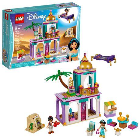 LEGO Disney Princess Aladdin and Jasmine's Palace Adventures 41161 Building Kit (193 Piece) ...