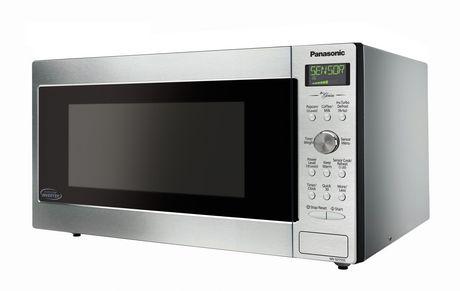 Panasonic 1 6 Cu Ft Cyclonic Wave Inverter Technology Microwave