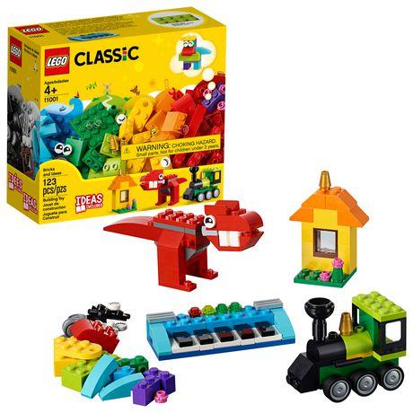 LEGO Classic Bricks and Ideas 11001 Building Kit (123 Piece)