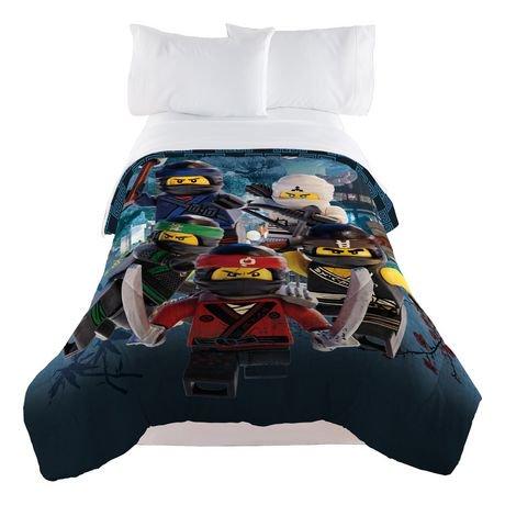 """LEGO Ninjago """"LEGO Warriors"""" Twin/Full Comforter   Walmart Canada"""