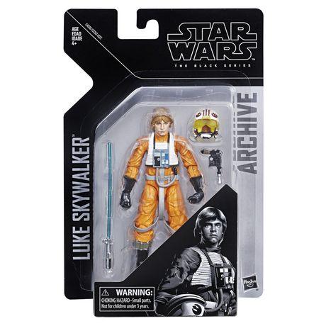 Star Wars The Black Series Archive Luke Skywalker Figure - image 1 of 2
