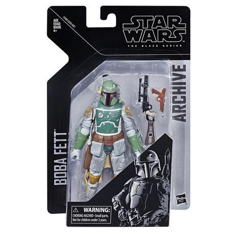 Star Wars The Black Series Archive Boba Fett Figure - image 1 of 2