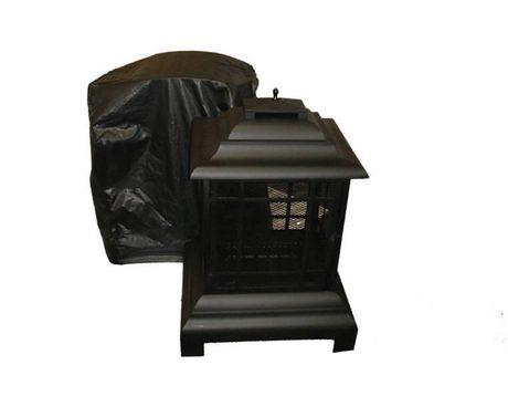 Couverture de chemin e ext rieure paramount en vinyle for Dessus cheminee exterieure