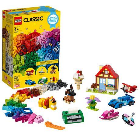 Classic Piece Creative Kit900 Fun 11005 Lego Building EHb9IeWD2Y
