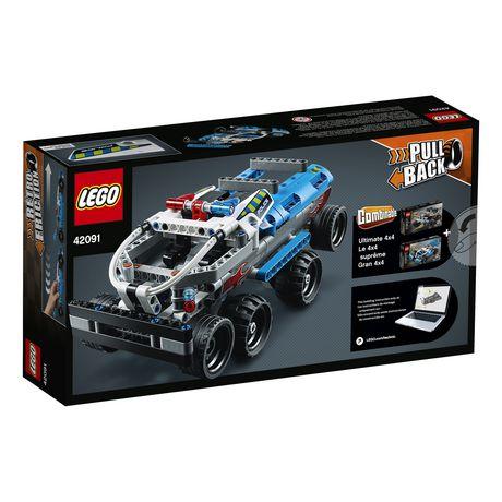 LEGO Technic La voiture de poursuite de la police 42091 - image 5 de 5