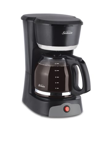 Sunbeam 12 Cup Black Switch Coffee Maker - image 1 of 3